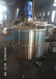 El tanque a granel sanitario 2000liter del enfriamiento de la leche