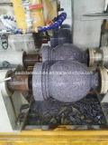 機械の側面図を描くCNCの二重石造りのコラム