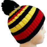 Chapéu feito malha do inverno do chapéu na cor agradável NTD1614