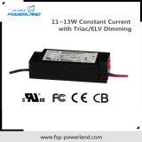 11 ~ 13W conducteur courant constant LED avec Triac / Elv Dimming