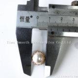 Zapatos ropa artesanal de aleación de remaches Semi-Circular Accesorios Bolsa de clavos Pearl
