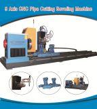 CNC van het roestvrij staal de Scherpe die Machine van het Plasma van de Pijp voor Industrie van de Bundel van het Staal wordt gebruikt