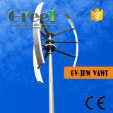 Générateur de vent à axe vertical 3kw avec Contoller and Inverter