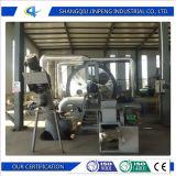 Ultimo pneumatico residuo automatico alta tecnologia che ricicla macchina