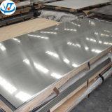 Alliage protégé par film lumineux 3003 de PVC de fini de miroir feuille de l'aluminium 5052 5083