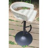 White Round Outdoor Hotel Table de rotin en osier pour jardin (FS-R003)