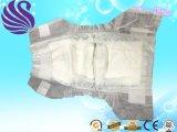 Crochet de bande de qualité du marché du Ghana et bande magiques respirables de boucle Tissu-Comme les couches-culottes remplaçables bon marché de bébé de couche-culotte arrière de film