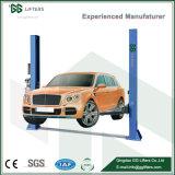 Напольная пластина гидравлической системы две должности Автомобильный подъемник