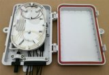 플라스틱 쉘 FTTH 6port 광섬유 끝 상자