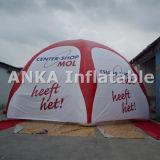 De afgedrukte Opblaasbare Tent van de Spin van de Koepel van de Lucht voor Openlucht