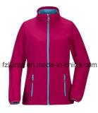 Флис женщин тепловой куртки куртка