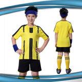 OEM 공백 아이 팀 축구 제복 새로운 디자인 아이 축구 착용 공급자 저어지 타이란드