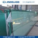 Soem-große Supervoll gebogene ausgeglichenes Glas-Gebäude-Zwischenwand-beste Qualität