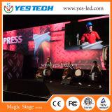 Fijo/alquiler instalar la publicidad de la pantalla de visualización de la muestra del LED