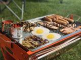 De Grill van multi-doelen in de Vouwbare Ontworpen Koffer van de Picknick