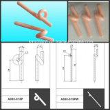Guida della lumaca dell'allumina di 99%/occhiello di ceramica dell'onda (guide della lumaca)