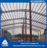 Большие Span Сборные стальные конструкции склад с одного этажа