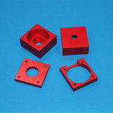 De vierkante Delen van het Aluminium van de Vorm met CNC het Machinaal bewerken