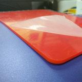 Лист пластмассы красного цвета 135 акриловый PMMA