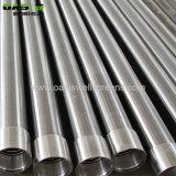 Filtro per pozzi dell'acqua dell'involucro del collegare dell'acciaio inossidabile 304L Slot20 per la perforazione del pozzo trivellato