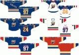 Personalização do desgaste de Desporto #97 Barrie crias 1995/1996 Home Hóquei no Gelo Jersey