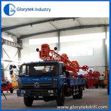 La Chine 350m a employé la plate-forme de forage montée par camion de puits d'eau