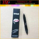 Kylieの物語のための新式の二重黒及びブラウンのアイライナー