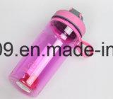 700ml/24oz BPA liberano la bottiglia di acqua dell'agitatore della proteina di sport di Tritan con il miscelatore dell'acciaio inossidabile e la sfera della plastica
