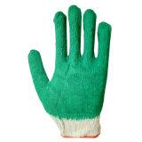 Новый зеленый гладкий латексные перчатки руки для сбора мусора