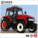 55kw de tractores agrícolas de Doble Tracción (75HP, 4WD con cabina)