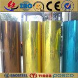 3003 H32 de la bobina de aluminio con recubrimiento de color para la decoración del obturador