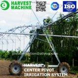 농업 경작지를 위한 여행 선회축 관개 시설