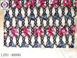 ランジェリーのための多彩な花の刺繍のレース