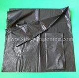 Bolso de basura reciclado de encargo del precio bajo, de gran tamaño, HDPE