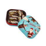 Boîte carrée de bidon de biscuits en métal (S001-V15)