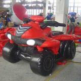 Популярные рекламные надувные модели автомобиля красного цвета для автомобильной выставке