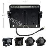 """De omkerende Uitrusting van de Camera met 1080P Ahd 7 """" Monitor van de Mening van de Vierling de Achter"""