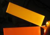 Luminoso customizável do diodo emissor de luz do luminoso vermelho do LCD