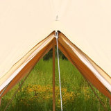 Kampierende im Freien Segeltuch-Rundzelt-wasserdichte Zelte