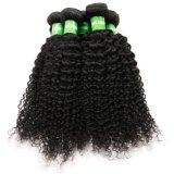 Belo Preço Populares Afro Kinky Curly Remy Cabelo Virgem Brasileira