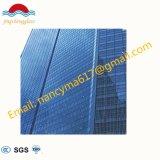 Low-E aislado de templado muro cortina de vidrio/Cristal de construcción