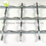 Aço inoxidável galvanizado Hot-Dipped frisada Wire Mesh