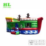 跳ね上がりのスライドが付いている商業PVC膨脹可能な海賊ボート