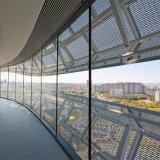 Châssis ouvert plaque en aluminium perforé/feuille Pour Plafond intérieur