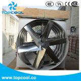 """Ventilador de 55 """"con marco de extrusión de aluminio y obturador de PVC"""