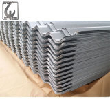 mattonelle di tetto ondulate rivestite duro galvanizzate di colore di 0.13mm SGCC in pieno