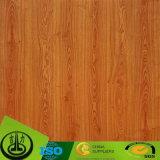 MDFおよびHPLのための木製の穀物カラーのPU Coationgのペーパー