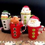 ترويجيّ عيد ميلاد المسيح [كفّ موغ] خزفيّة [شريستمس] هبة إبريق