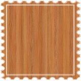 Suelo laminado estándar de carb mosaico de madera flotante para la decoración del piso interior