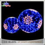 عيد ميلاد المسيح زخرفيّة أزرق كرة خيط ضوء [لد] عطلة إنارة